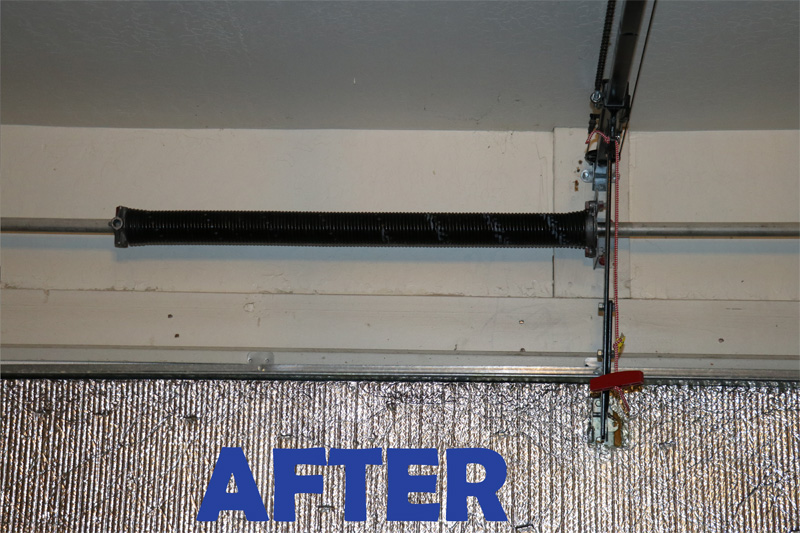Garage Door Spring Repair After